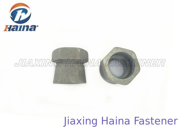 Carbon Steel Hot Dip Galvanized Anti Theft Bearkoff Shear Nuts Shear Security Nut Hex Head Nut