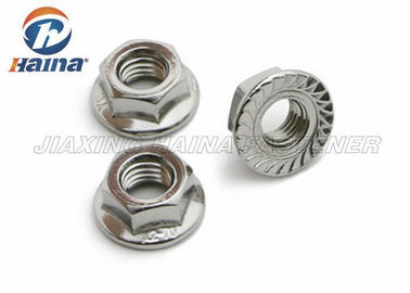 चीन Plain Color A4 70 Stainless Steel Nuts M10 A2 / A4 Grade For Constructing फैक्टरी