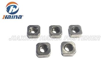 चीन Square Hex Head Stainless Steel Nuts Thin Zinc Plated Customized Anti Corrosion फैक्टरी