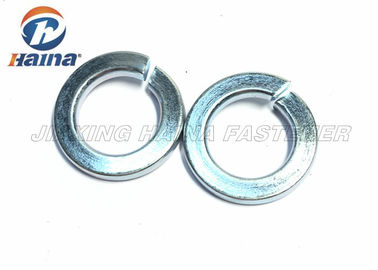 चीन Zinc Plated Flat Metal Washers  M2 - M100 , Spring Loaded Washer Carbon Steel फैक्टरी
