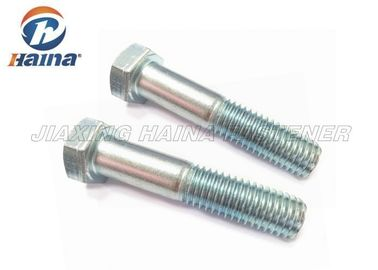 Carbon Steel Hex Head Bolts Hexagon Head Cap Screw ASME B18.2.1 Right Hand