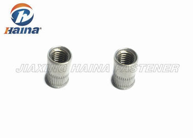 चीन SS304 M8 Threaded Rivet Nuts Right Hand Plain With Good Corrosion Resistance फैक्टरी