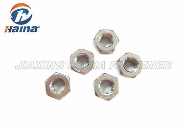 चीन 316 Stainless Steel Nuts Fine Thread Hex Finished for Machinery DIN 934 फैक्टरी