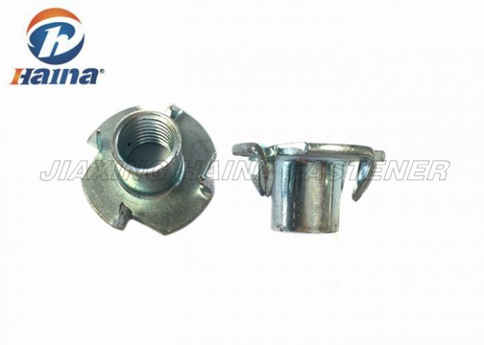 Furniture Stainless Steel Nuts Zinc Plated Good Corrosion Resistance With Four Claws