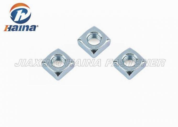 Galvanized Small Brass Hex Nuts , Square Nut Socket Set M5 M8 For Construction